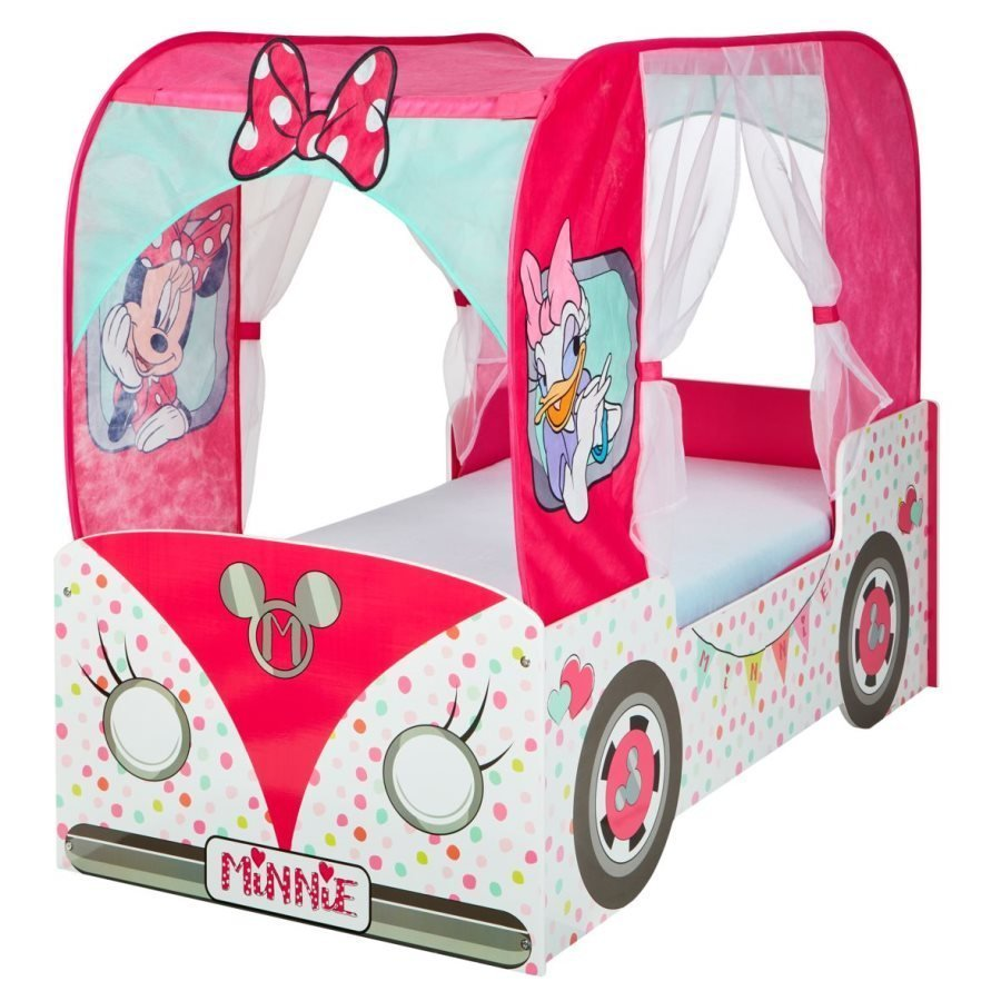 Disney Minnie Mouse Camper Van Canopy Toddler Bed