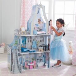 KidKraft Magical Dreams Castle Dollhouse brings fantasies to life for your little one with this fully furnished and decorated Dollhouse.
