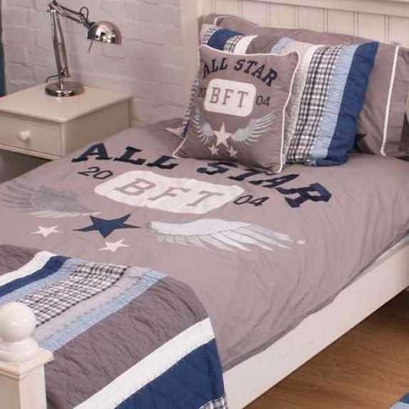 All Star Single Duvet Cover Pillowcase Little Dreamers