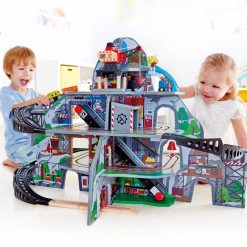 Hape Fantasia Blocks Train is a colourful wooden pull along train by Hape features uniquely shaped blocks with enchanting patterns,