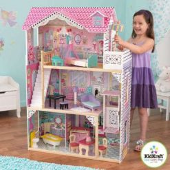 Kidkraft Annabelle Dollhouse is a wonderfully made and fully decorated wooden dolls house, ensuring that playtime will never be dull