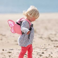 Butterfly Kids Backpack with safety rein