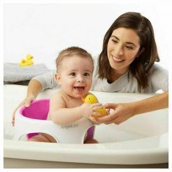 Angelcare Soft Baby Bath Seat - Pink