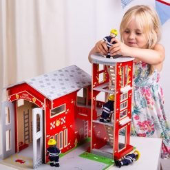Fire Fighting Wooden Toys