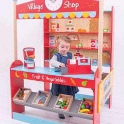 Wooden Play Shop & Accessories