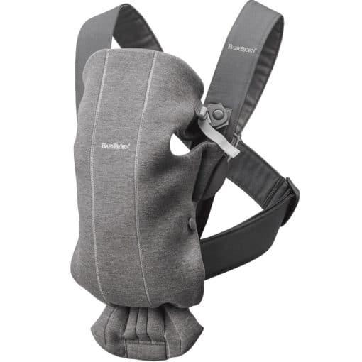 Babybjorn Mini Baby Carrier 3d Jersey Dark Grey