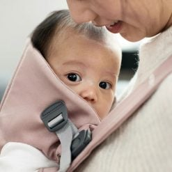 Babybjorn Mini Baby Carrier Dusty Pink Cotton