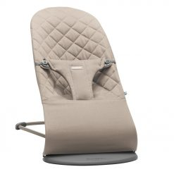 Babybjorn Baby Bouncer Bliss - Sand Grey - Cotton