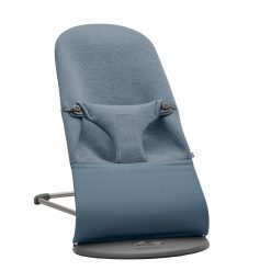 Babybjorn Baby Bouncer in a soft 3D Jersey Fabric in Dove Blue