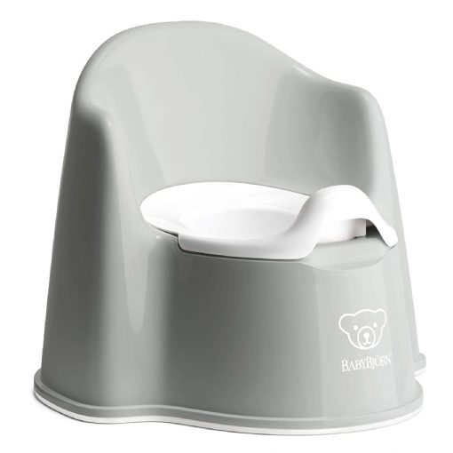 Babybjorn Potty Chair Grey with back support