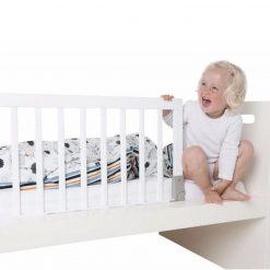 Babydan Wooden Bed Rail provides your children with a safe secure sleeping environment. ideal for children aged 18 months to 5 years.