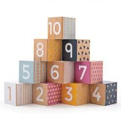 Bigjigs Wooden Number Blocks 1 - 10