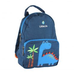 Littlelife Dinosaur Toddler Backpack with Rein is a cute little pack with 3D Dinosaur on the front, with 2 separate pockets