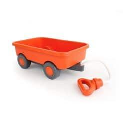 Green Toys Pull along wagon in orange