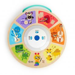 Hape Baby Einstein Symphony Sounds combines the classic entertainment of a wooden toy with the musical discovery of an electronic toy.