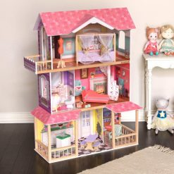 Kidkraft Viviana Dollhouse is a large wooden dolls house featuring bright, energetic decor a welcome retreat for any Dolls up to 30cm