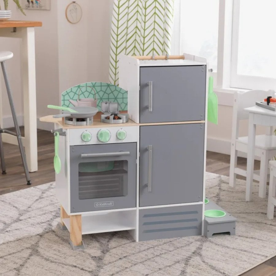 Kidkraft 2 In 1 Kitchen And Laundry Play Kitchens Little Dreamers