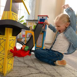 Kidkraft Freeway Frenzy Wooden Playset
