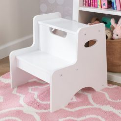 Kidkraft Two Step Stool brings kids two steps closer to independence, helping them to access things just out of reach.