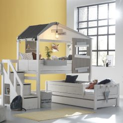 Lifetime Hide Out Corner Bunk Bed With Steps