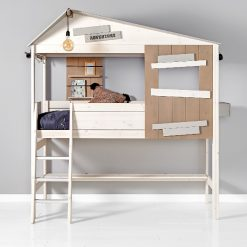 Lifetime Semi High Bed with Ladder
