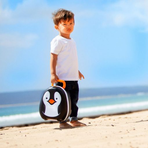 My Carry Potty Penguin is a leak proof portable kids potty