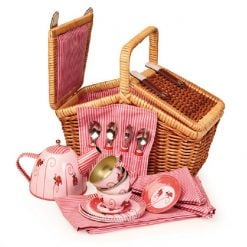 Picnic Basket Tea Set- Ladybug is a beautiful picnic basket with everything you need for tea for 4, and a lovely day out.