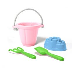 Green Toys Sand Play Set in Pink