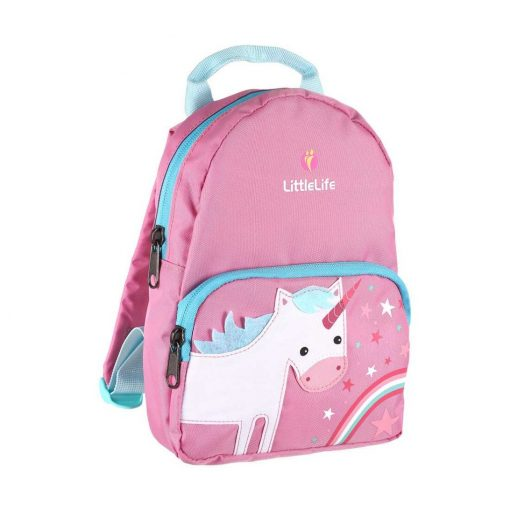 Littlelife Unicorn kids backpack with rein