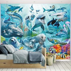 Under The Sea Kids Wall Mural