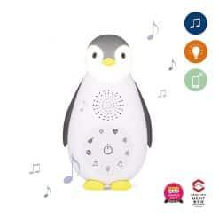Zazu Music Box Zoe the penguin is a sound machine, wireless speaker and nightlight in one. Zoë has 7 pre-set melodies