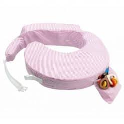 My Brest Friend Nursing Pillow Pink Stripe